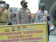 Operasi Yustisi, Prioritaskan 100 Persen Warga Tangerang Wajib Gunakan Masker