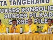 Rakerda Golkar Kota Tangerang Usung Sachrudin Jadi Balon Walikota