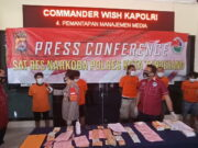 8 Pengedar dan Seorang Pengguna Narkoba Diamankan SatresNarkoba Polresta Tangerang