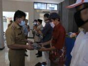 BPBD Kota Tangerang Bagikan 507 Ribu Masker ke 1.014 RW