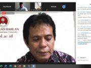 Launcing Pusat Studi Halal ITB Ahmad Dahlan; Ini Kajian Halal Versi UU Cipta Kerja