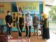 Tingkatkan Budaya Literasi, Airin Resmikan TBM Catelia