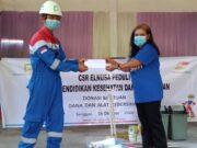 CSR Petrofin Resik Bagikan Alat Kebersihan & Santunan Untuk Rumah Ibadah