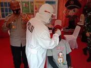 Cegah Covid-19, Polisi Lakukan Rapid Test Antigen Gratis di Rest Area Tol Jakarta-Tangerang