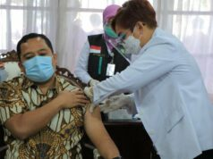 Vaksinasi Wali Kota Tangerang