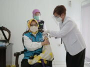 Jalani Suntik Vaksin, Airin Yakin Vaksinasi Menciptakan Kekebalan Tubuh