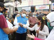 Sidak di Pasar, 90 Persen Warga Tangsel Tertib Gunakan Masker