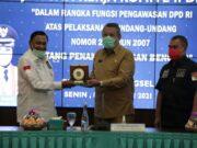 Benyamin Terima Kunjungan DPD RI, Bahas Penanganan Bencana Daerah