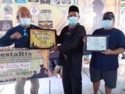 Bantu Pembangunan Masjid di Sodong Tigaraksa, Vespataria Gelar Baksos Donasi