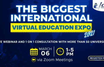 Pameran Pendidikan ICAN The Biggest International Virtual Education Expo 2021