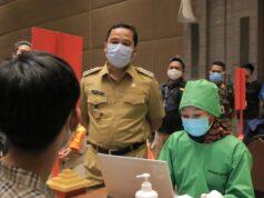 Vaksin Covid-19 Sasar Pedagang Pasar dan Pegawai Pertokoan di Tangerang