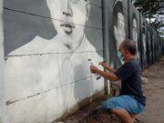 Keren Jasa, Ini Sosok Dendi Pelukis Air Brush Street Museum di Cipondoh