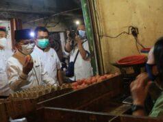 Sidak Pasar Jelang Puasa, Harga Komoditas Harian di Tangerang Naik