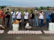 Kurir 64kg Ganja Asal Aceh Dibekuk Sat Resnarkoba Polres Metro Kota Tangerang