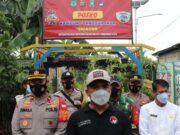 KTJ Gandasari Satres Narkoba Tangerang Kota Swab Antigen Acak Warga Mudik