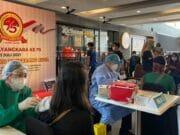 Bersama TangCity, Polres Metro Tangerang Kota Vaksinasi 500 Warga