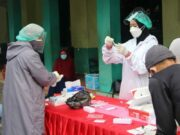 DPC PKS Kelapa Dua Lakukan Swab Antigen Kepada Panitia Qurban