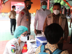 Pelajar Kota Tangerang Mulai Divaksinasi Covid-19