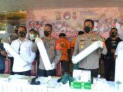 Pecandu Narkoba Jual Alkes Palsu Online Diringkus Sat Resnarkoba Polres Metro Tangerang Kota