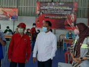 Kegiatan Vaksinasi Di Desa Rancaiyuh Kecamatan Panongan.