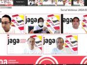 Webinar KPK, Arief Sampaikan Gagasan Terkait Penyaluran Dana Bantuan Sosial