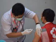 Setelah Nakes, Giliran Petugas PMI Kota Tangerang di Suntik Vaksin Dosis 3 Moderna