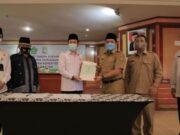Pembangunan Asrama Haji di Cipondoh, Sertifikat Tanah 4,1 Hektare Diserahkan
