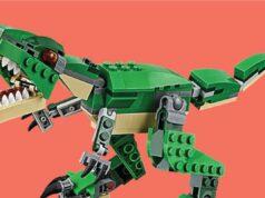 7 Lego Yang Berbentuk Dinosaurus