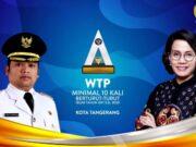 Berhasil Raih Lebih dari 10x WTP, Pemkot Tangerang Diberi Penghargaan Kemenkeu