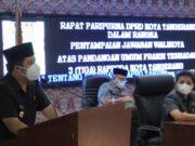 Paripurna, Wali Kota Tangerang Jawab Pandangan Umum Fraksi Terkait 3 Raperda