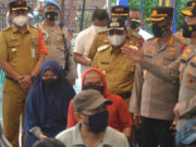 Waka Polda Metro Jaya Sambangi Gerai Vaksinasi Merdeka Sumur Pacing