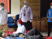 Safari Donor, Kecamatan Batuceper Bantu Penuhi Darah PMI Kota Tangerang