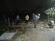 Pemasangan plang Mushola di Perumahan Kembang Harum 2.