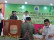 H. Maman, S.P, sebagai Ketua DPD Lebak Kesti TTKKDH.