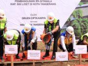 Penuhi Kebutuhan Air Bersih Masyarakat, Pemkot Tangerang Bangun IPA Sitanala