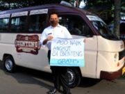 Ayo, Naik Angkot Si Benteng Kota Tangerang Gratis Hingga Akhir Tahun